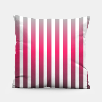Imagen en miniatura de Vertical pinstripes in warm color scheme Pillow, Live Heroes