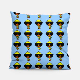 Thumbnail image of Cool Duck Pattern Blue Kissen, Live Heroes