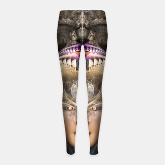 Miniaturka Maikia - Mystic Guardian Of Evxlore Girl's leggings, Live Heroes