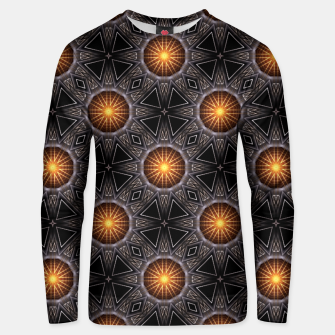 Thumbnail image of Golden Orb Tower Pattern 00120150507220114 Unisex sweater, Live Heroes