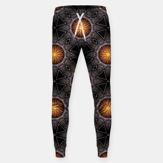 Thumbnail image of Golden Orb Tower Pattern 00120150507220114 Sweatpants, Live Heroes