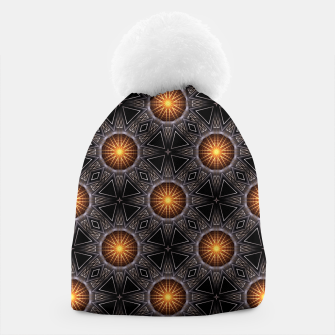 Thumbnail image of Golden Orb Tower Pattern 00120150507220114 Beanie, Live Heroes