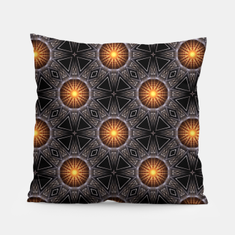 Thumbnail image of Golden Orb Tower Pattern 00120150507220114 Pillow, Live Heroes