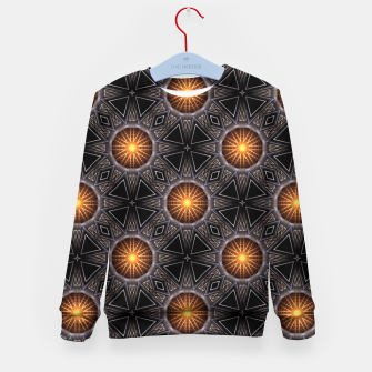 Thumbnail image of Golden Orb Tower Pattern 00120150507220114 Kid's sweater, Live Heroes
