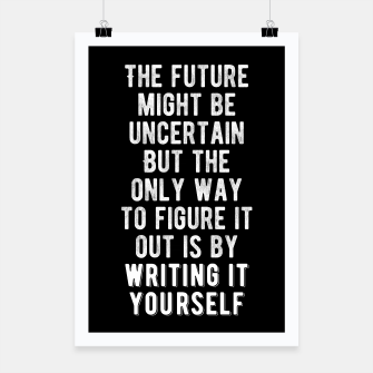 Inspirational - Write Your Future Poster thumbnail image