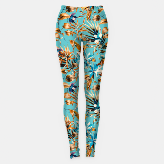 Thumbnail image of Pattern botanical exotic - 02 Leggings, Live Heroes