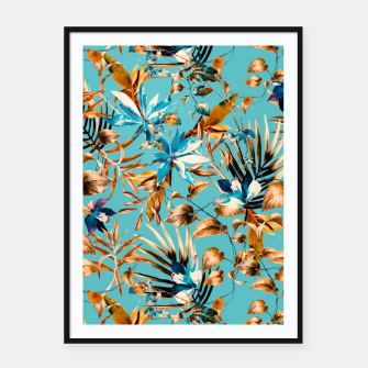 Thumbnail image of Pattern botanical exotic - 02 Cartel con marco, Live Heroes