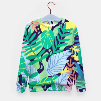 Thumbnail image of Wild Garden Kid's sweater, Live Heroes