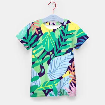 Thumbnail image of Wild Garden Kid's t-shirt, Live Heroes