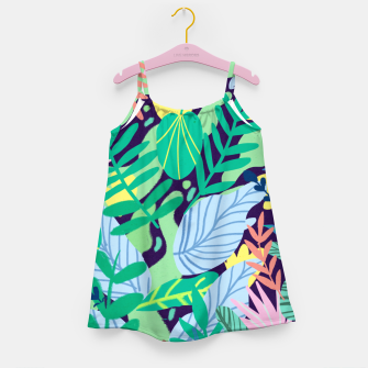 Miniatur Wild Garden Girl's dress, Live Heroes