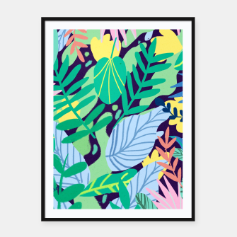 Thumbnail image of Wild Garden Framed poster, Live Heroes