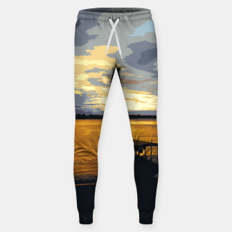 Thumbnail image of Golden Evening At The Beach Sweatpants, Live Heroes