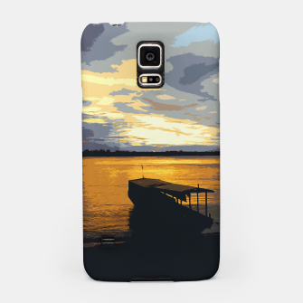Thumbnail image of Golden Evening At The Beach Samsung Case, Live Heroes
