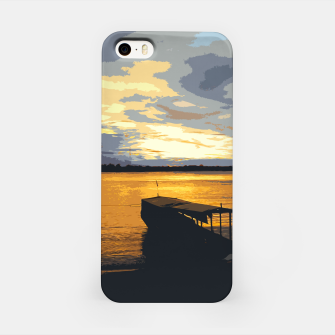 Thumbnail image of Golden Evening At The Beach iPhone Case, Live Heroes