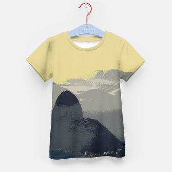 Thumbnail image of Sugarloaf Mountain Colors Kid's t-shirt, Live Heroes