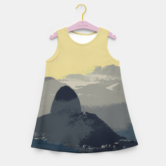 Thumbnail image of Sugarloaf Mountain Colors Girl's summer dress, Live Heroes