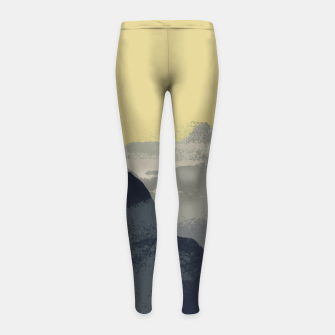 Thumbnail image of Sugarloaf Mountain Colors Girl's leggings, Live Heroes