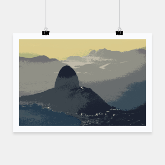 Thumbnail image of Sugarloaf Mountain Colors Poster, Live Heroes