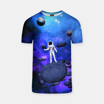 Thumbnail image of Cosmic Hitchhiker T-Shirt, Live Heroes