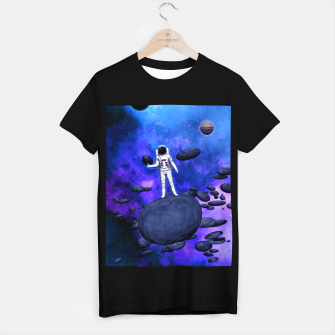 Thumbnail image of Cosmic Hitchhiker T-Shirt regulär, Live Heroes