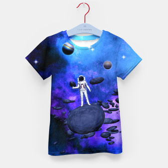 Thumbnail image of Cosmic Hitchhiker T-Shirt für kinder, Live Heroes