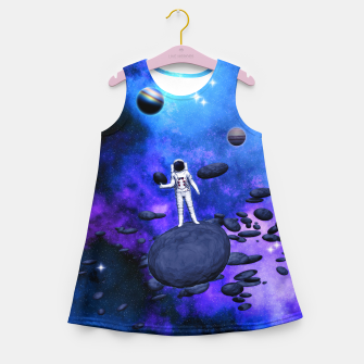Thumbnail image of Cosmic Hitchhiker Mädchen-Sommerkleid, Live Heroes