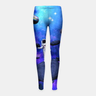 Thumbnail image of Cosmic Hitchhiker Kinder-Leggins, Live Heroes