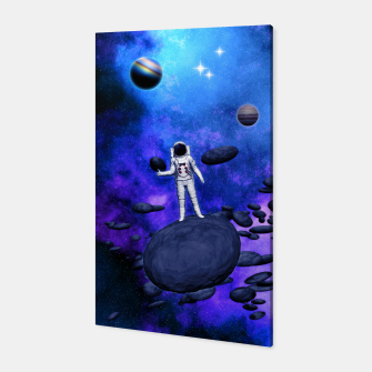 Thumbnail image of Cosmic Hitchhiker Canvas, Live Heroes