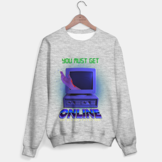 Thumbnail image of online VHS retro Sweater regular, Live Heroes
