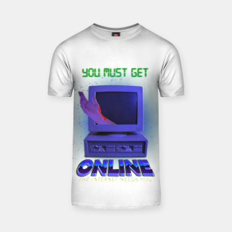 Thumbnail image of online VHS retro T-shirt, Live Heroes