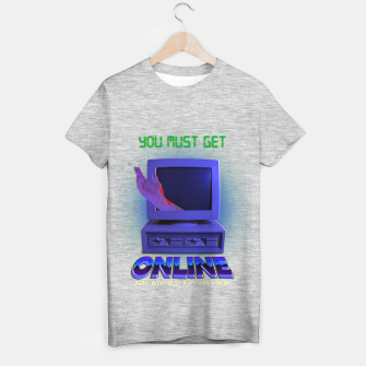 Thumbnail image of online VHS retro T-shirt regular, Live Heroes