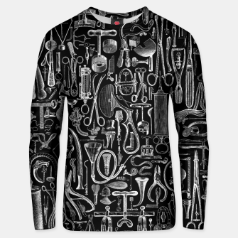 Thumbnail image of Medical Condition BLACK for Nurses and Doctors Unisex sweater, Live Heroes