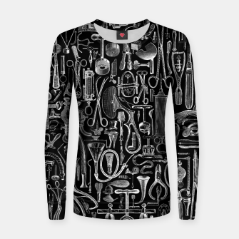 Thumbnail image of Medical Condition BLACK for Nurses and Doctors Women sweater, Live Heroes