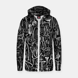 Thumbnail image of Medical Condition BLACK for Nurses and Doctors Zip up hoodie, Live Heroes