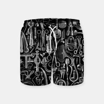 Thumbnail image of Medical Condition BLACK for Nurses and Doctors Swim Shorts, Live Heroes