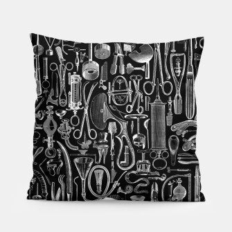 Thumbnail image of Medical Condition BLACK for Nurses and Doctors Pillow, Live Heroes