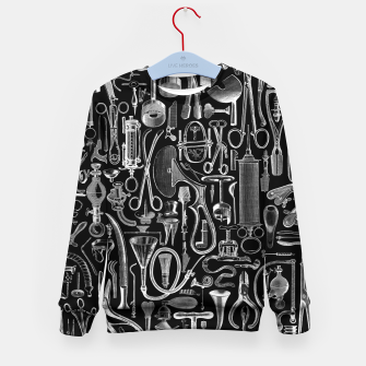 Thumbnail image of Medical Condition BLACK for Nurses and Doctors Kid's sweater, Live Heroes