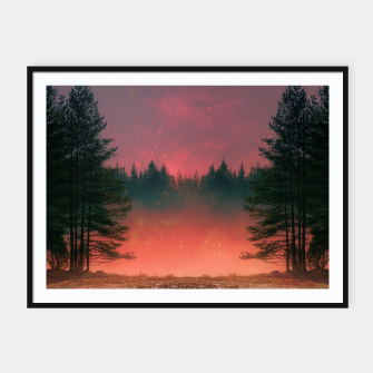 Thumbnail image of Fire Within Framed poster, Live Heroes
