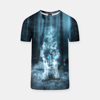 Thumbnail image of Midnight Wolf T-Shirt, Live Heroes