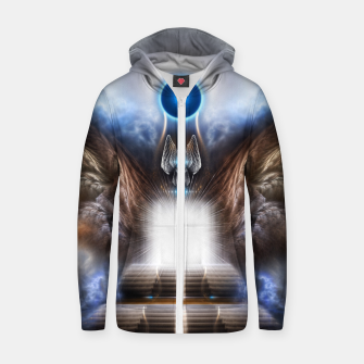 The Temple OF Heaven Zip up hoodie thumbnail image