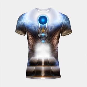 The Temple OF Heaven Shortsleeve rashguard thumbnail image