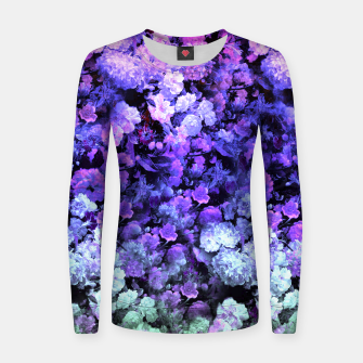 Thumbnail image of Flower Indigo Sweater, Live Heroes