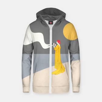 Thumbnail image of Sound of the Moon Zip up hoodie, Live Heroes