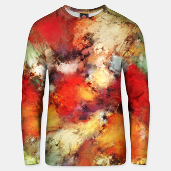 Thumbnail image of Red colour identity Unisex sweater, Live Heroes