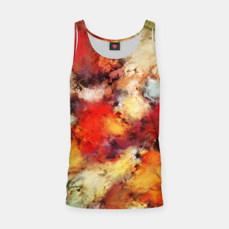 Red colour identity Tank Top thumbnail image