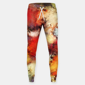 Thumbnail image of Red colour identity Sweatpants, Live Heroes