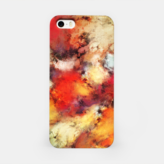 Red colour identity iPhone Case thumbnail image