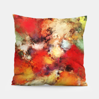 Red colour identity Pillow thumbnail image