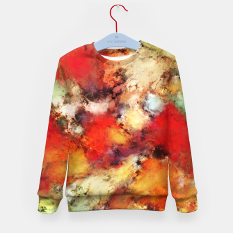 Thumbnail image of Red colour identity Kid's sweater, Live Heroes