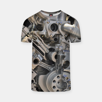 Miniaturka Engine Design T-shirt, Live Heroes